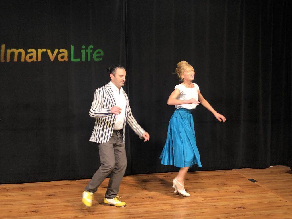 Italian Dancers Cristina Pensiero and Cesare Vangeli Perform On The Delmarva Life Stage