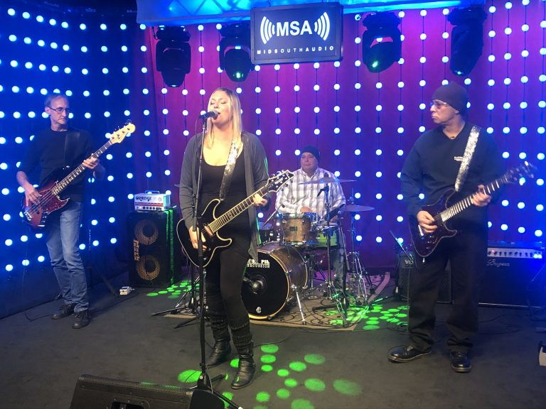 Lime Green, The Band, Performs On The DelmarvaLife Mid South Audio Stage
