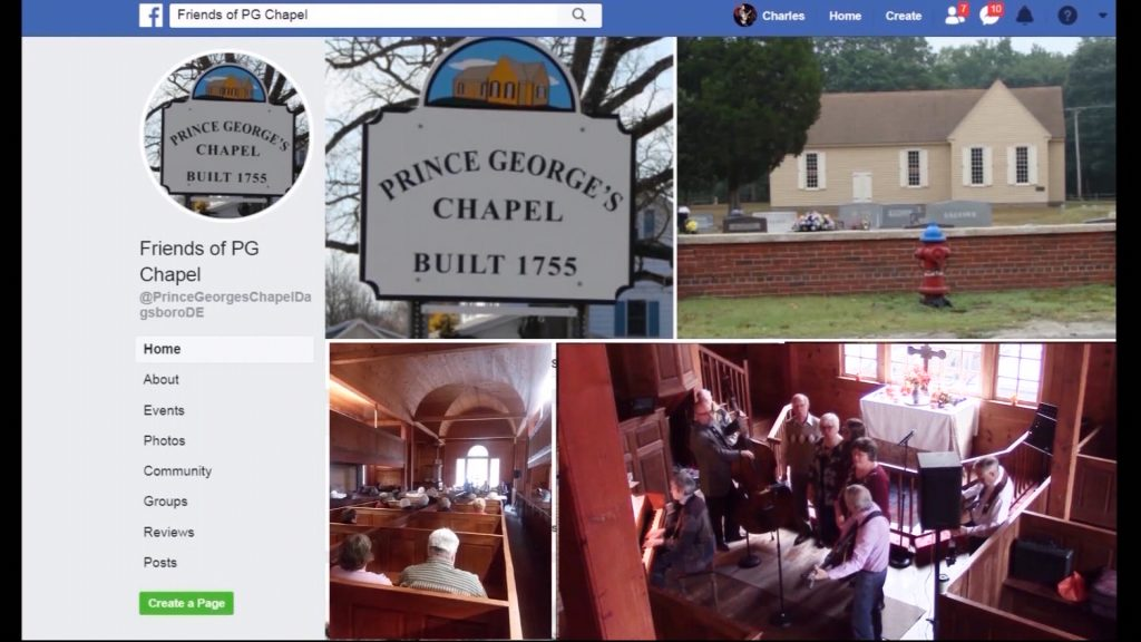 Travels With Charlie: Prince George's Chapel in Dagsboro