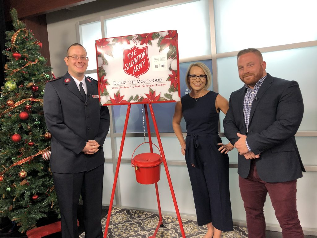 That Familiar Sound  – The Salvation Army Red Kettle Campaign Is Under Way