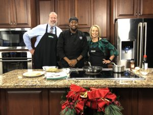 We Are In The Kitchen With Chef Jerome Brown Of Dockside In Pocomoke