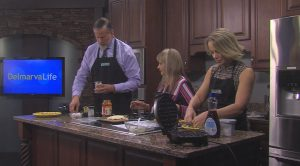 "In The Kitchen With Jimmy's Wife, Carol – She Shows Us How To Make ""Chaffles"""