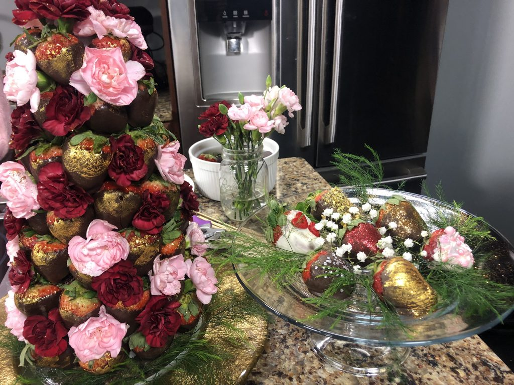 Making Beautiful Valentine's Day Treats with Personal Chef Deborah Lee Walker
