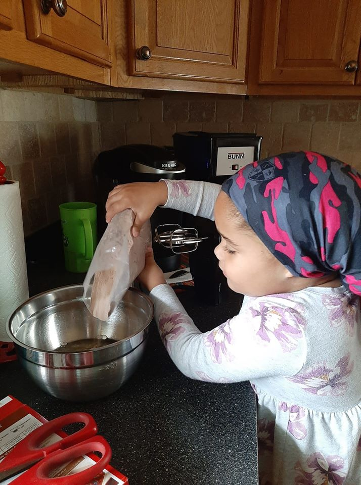 Baking with Brileigh: Local Four Year Old Finds New Hobby During Quarantine