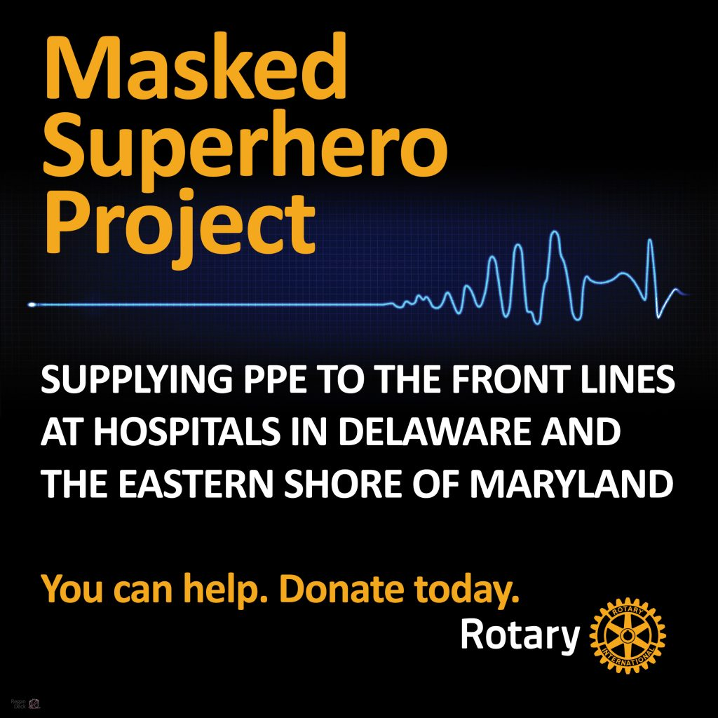 Masked Superhero Project Provides PPE to Local Healthcare Workers
