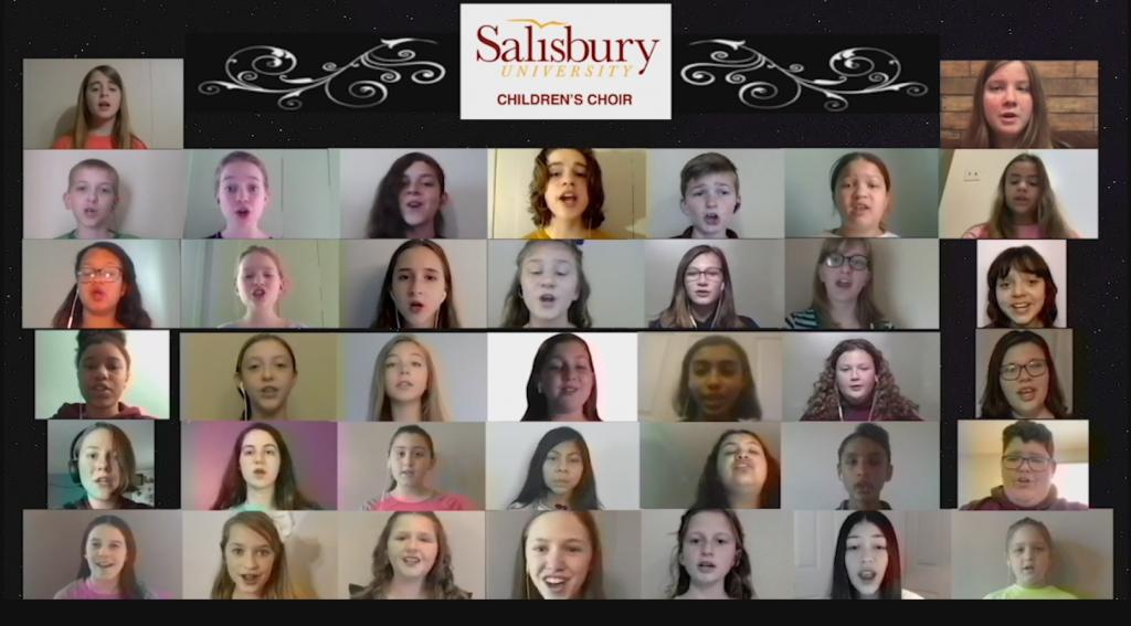 "Salisbury University Children's Choir Performs ""Nothin' Gonna Stumble My Feet"""
