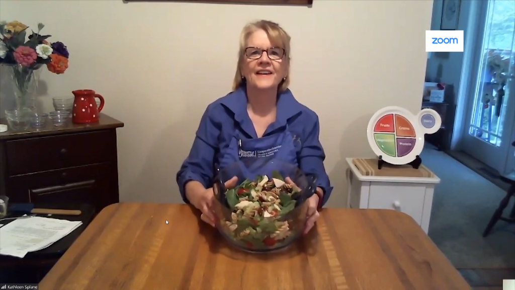 Healthy Spinach Salad with Kathleen Splane