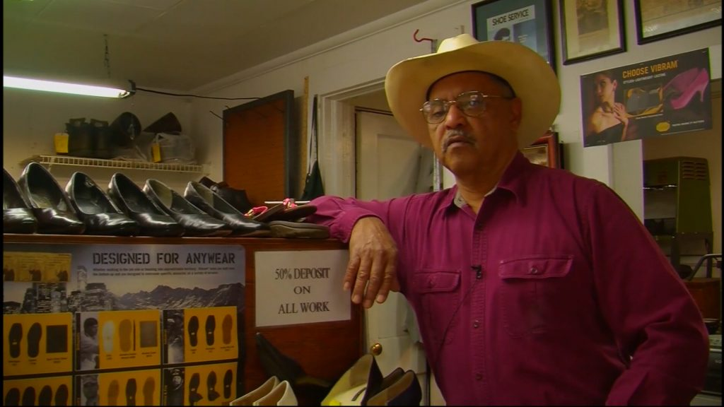 Travels With Charlie: Clifford Cottman, Shoe Repair
