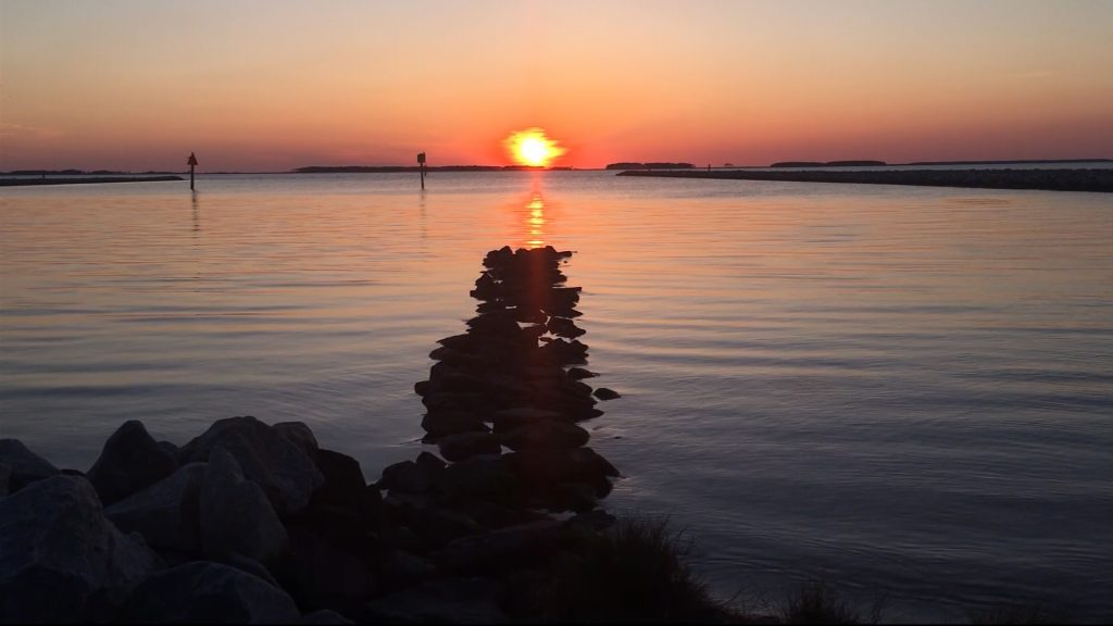 """Travels With Charlie: """"Sunset on Still Water"""""""