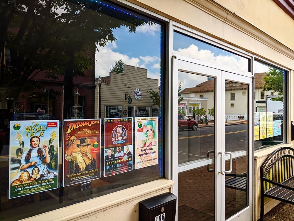 Milton Theatre Reopens with Precautions in Place