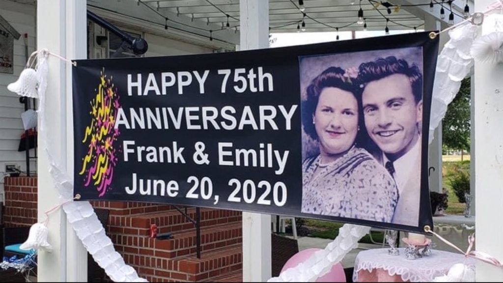 Travels With Charlie: 75th Anniversary of Franklin and Mary Emily Jones