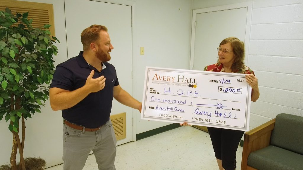 Avery Hall Cares Program Helping Those Facing Tough Times