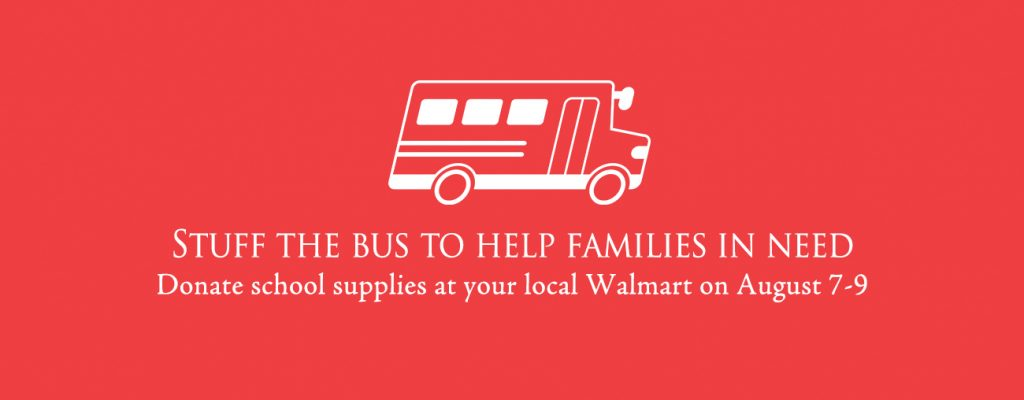 """""""Stuff The Bus"""": Providing School Supplies To Children in Need"""