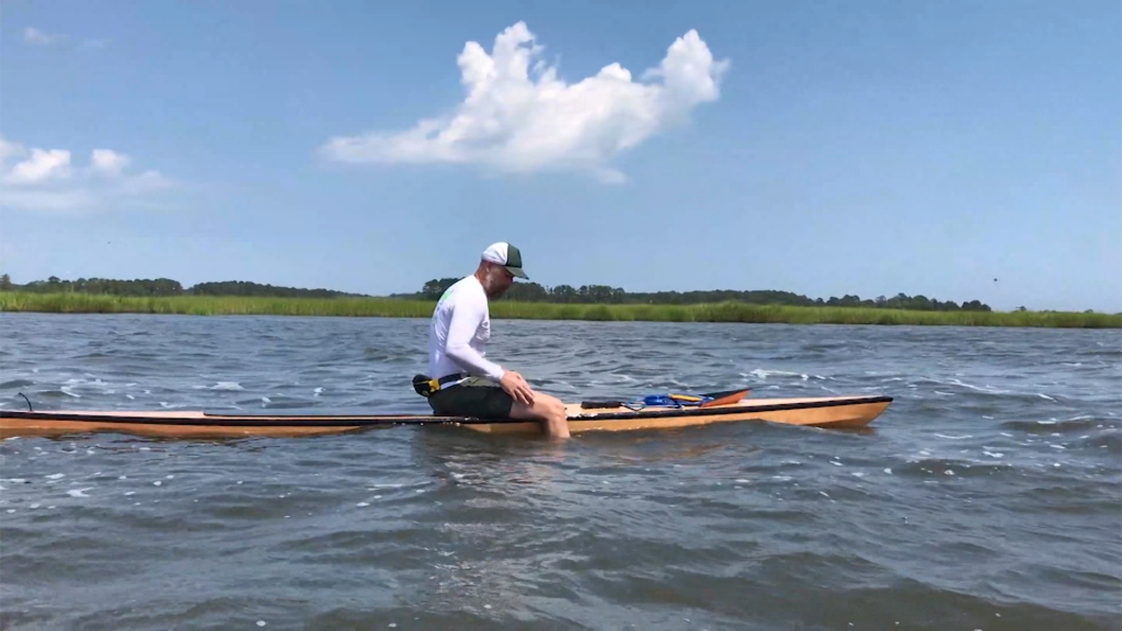 Sussex County Man Paddles 25 Miles in Fundraising Effort
