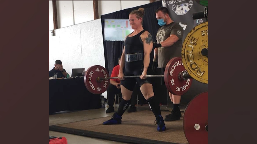 Caroline County Sheriff's Officer Breaks State Records in Powerlifting