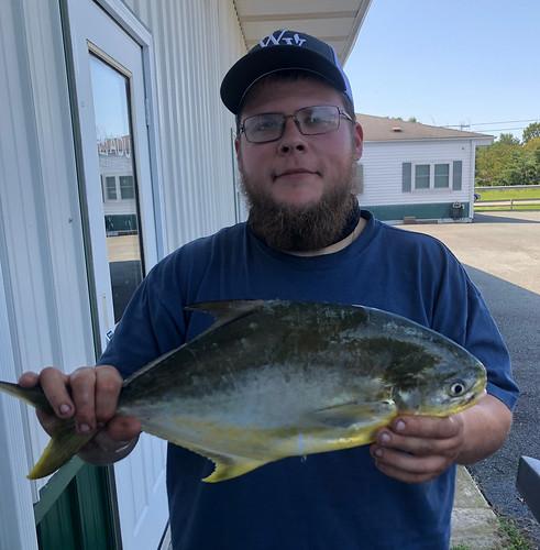 Dorchester County Angler Catches Record Florida Pompano