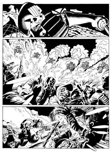 Judge Dredd page