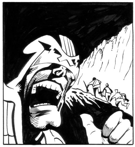 Judge Dredd panel 1