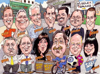 Corporate caricature