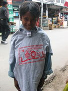 hook a brutha up - i gave out plenty o t shirts in india yo