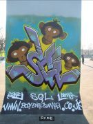 SGL, vert wall piece  - by ernie and demo -