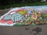 zesk, 45rpm, cheo - st george paint jam 2007