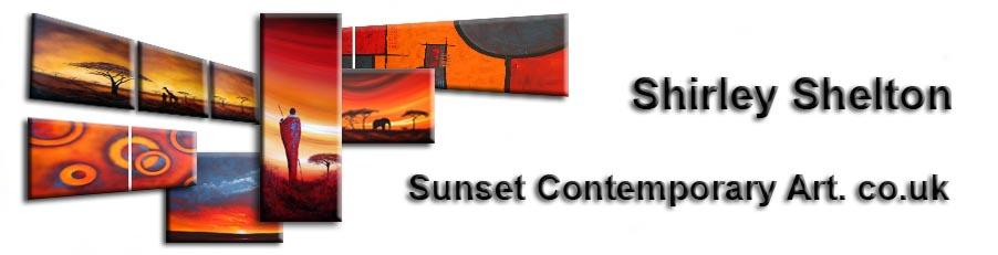 Sunset Contemporary Art.co.uk