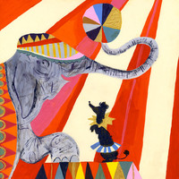 Circus Elephant