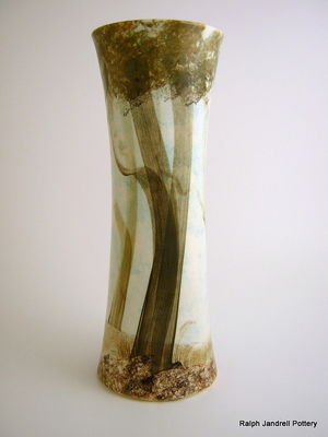 Large waisted vase- Wildwood design