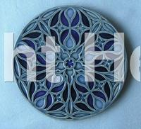 Small Malvern Tile - Round
