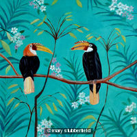 Indian hornbills
