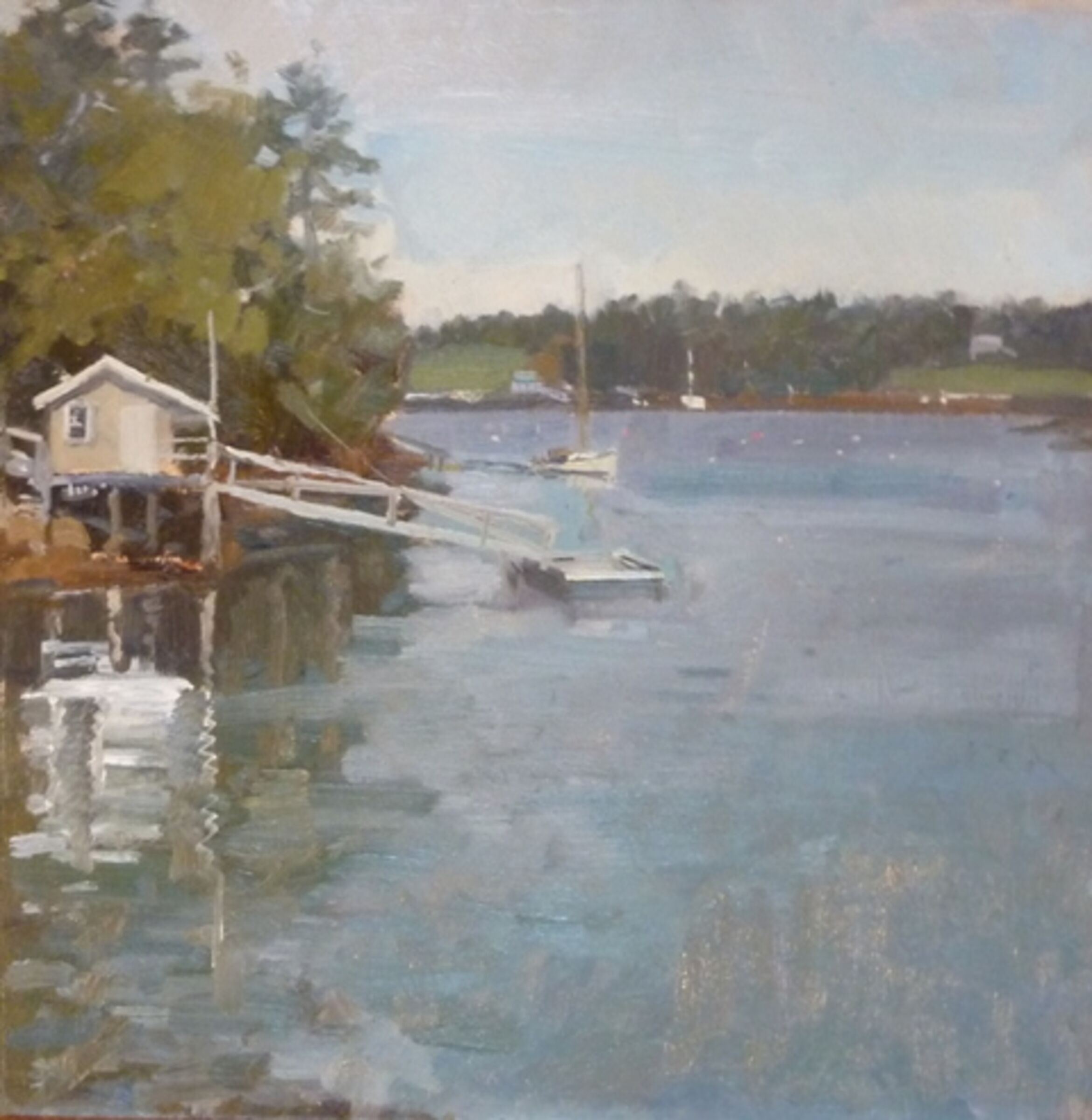 Boat House, Boothbay, Maine