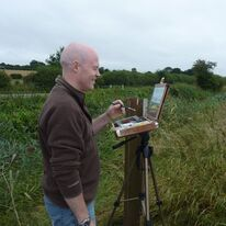Tony Dakin, on the Rother levels