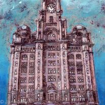 the royal liver building liverpool