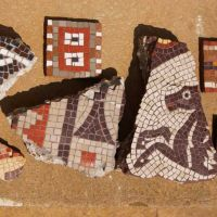 Mosaic on Stones , School projects for the Roman Curriculum.