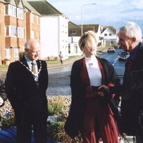 The Roundabout unveiling with the Mayor of Peacehaven 1999