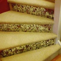 Mirror Mosaic Stairs , Kay  Steve, private commission