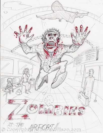 Zombies at the airport