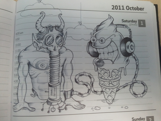 Weird Ice Cream sketch