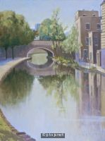 The Regent's Canal at Mile End Road