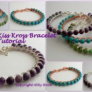 Kiss Kross Bracelet Tutorial