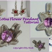 Lotus Flower Pendant Tutorial
