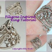 Filigree Inspired Ring Tutorial