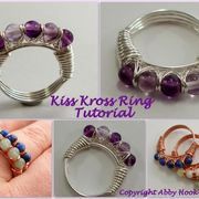 Kiss Kross Ring Tutorial