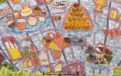 Mixed Emotions Mosaic (Detail)