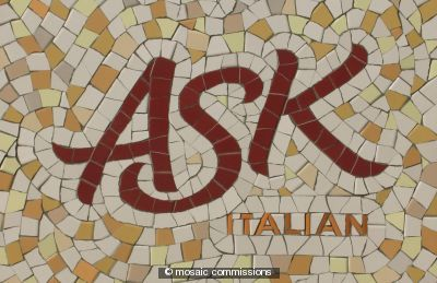 ASK restaurant Sign: hornchurch