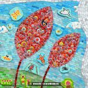 Morehall Primary School Mosaic (Detail)