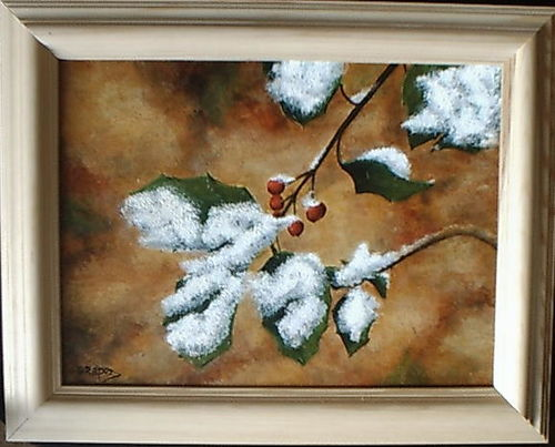 Snow on Berries