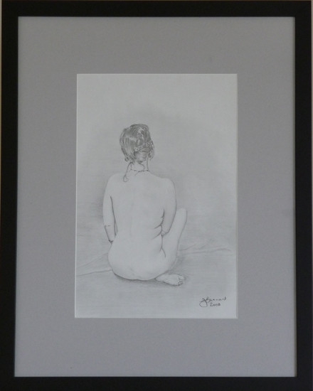 Nude Seated