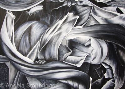 Tulipmania 9 - Black and White